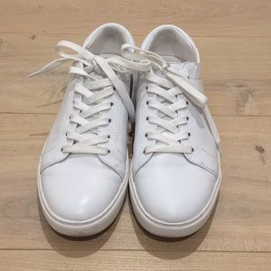 Kenneth Cole white fashion sneakers